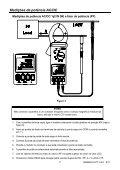 Manual de instruções Medidor de potência AC/DC com presilha e ... - Page 7
