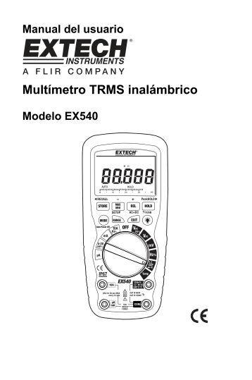 Multímetro TRMS inalámbrico - Extech Instruments