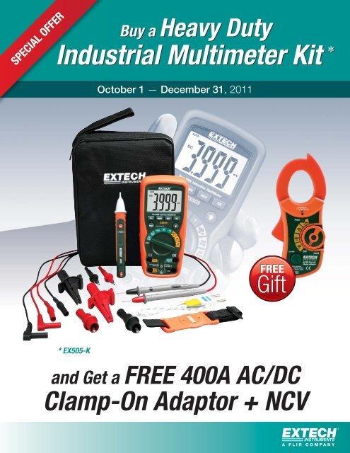 Buy a Heavy Duty Industrial Multimeter Kit - Extech Instruments