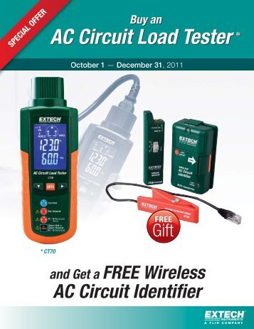 Buy An AC Circuit Load Tester - Extech Instruments