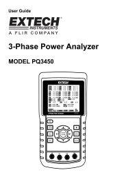 3-Phase Power Analyzer - Extech Instruments