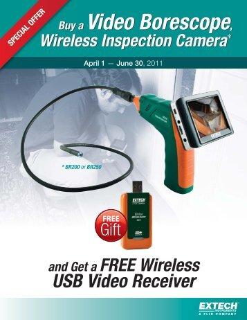 Buy a Video Borescope, Wireless Inspection Camera - Extech ...