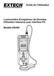 Guide de l'Utilisateur Luminomètre Enregistreur de Données ...