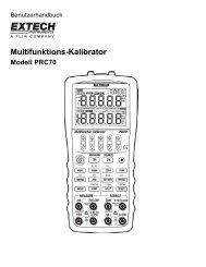 Multifunktions-Kalibrator - Extech Instruments