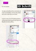 3D - Schriften mit Gimp erstellen - Seite 7