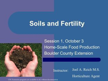 Soil for Soil quality pdf