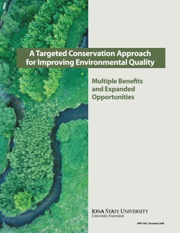 A Targeted Conservation Approach for Improving Environmental ...