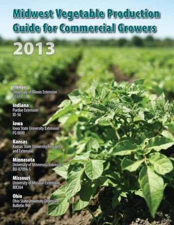 Midwest Vegetable Production Guide for Commercial Growers