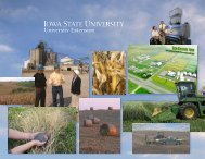 Leadership in the Bioeconomy - Iowa State University Extension and ...