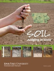 Soil Judging in Iowa - Iowa State University Extension and Outreach