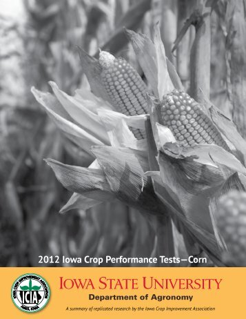 2012 Iowa Crop Performance Tests?Corn - Iowa State University ...