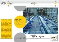 Modul Lager & Logistik - As/point