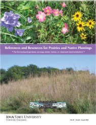 References and Resources for Prairies and Native Plantings