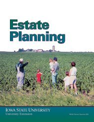Estate Planning - Iowa State University Extension and Outreach