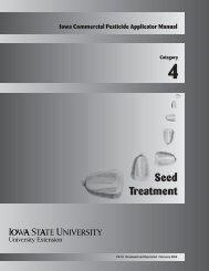 Seed Treatment - Iowa State University Extension and Outreach