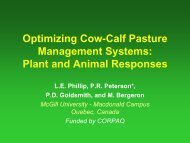 Optimizing Cow-Calf Pasture Management Systems