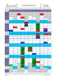 CALENDÁRIO ESCOLAR Ano letivo 2011/2012 2.ª 3.ª 4.ª 5.ª 6.ª 2.ª 3 ...