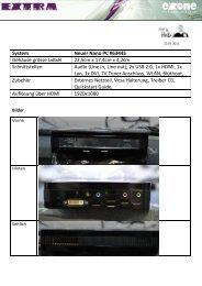 System Neuer Nano PC #63445 Gehäuse grösse LxBxH 22,5cm x ...