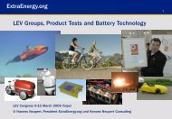 Title ExtraEnergy.org LEV Groups, Product Tests and Battery ...