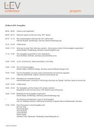 Conference Program - ExtraEnergy.org