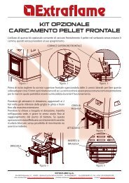 KIT OPZIONALE CARICAMENTO PELLET FRONTALE