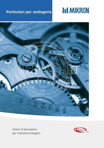Particolari per orologeria