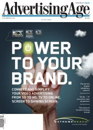 connect and simplify your video advertising from sd ... - Extreme Reach