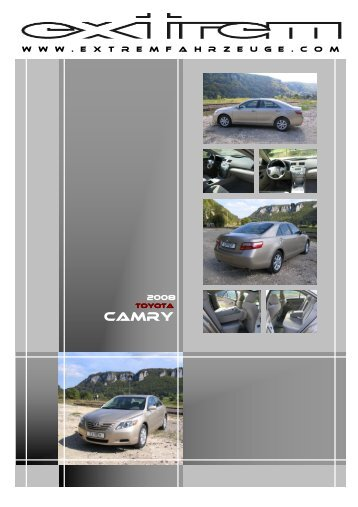 Toyota Camry _Stand-Febr.2008