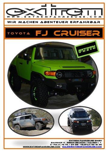 FJ Cruiser - Extremfahrzeuge GmbH