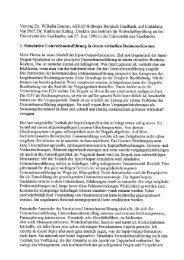 Vortrag Dr. Wilhelm Dauner, Asrap-Software Bergisch Gladbach ...