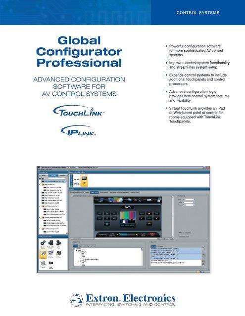 Global Configurator Professional - Extron Electronics