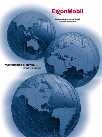 Informe de Responsabilidad Social Corporativa - ExxonMobil ...