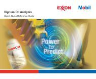 20 COUNT NEW SIGNUM EXXONMOBIL OIL ANALYSIS KIT FOR LUBRICANTS /& SPECIALTIES