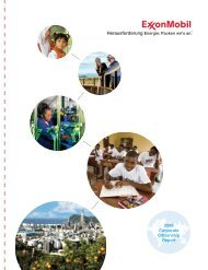 2006 Corporate Citizenship Report - Germany - ExxonMobil