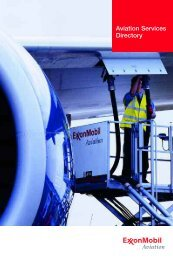 Aviation Services Directory - ExxonMobil
