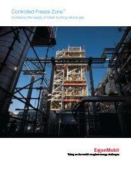 Controlled Freeze Zone™ - ExxonMobil