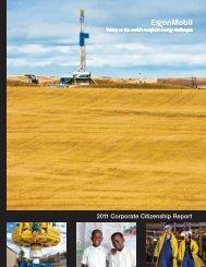 2011 Corporate Citizenship Report - ExxonMobil