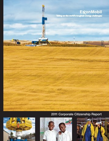 2011 Corporate Citizenship Report - ExxonMobil