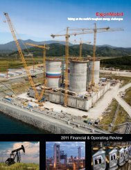 2011 Financial & Operating Review - ExxonMobil