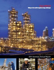 2011 Summary Annual Report - ExxonMobil