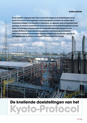 De knellende doelstellingen van het Kyoto-Protocol - ExxonMobil