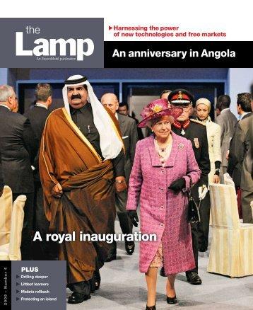 A royal inauguration - ExxonMobil