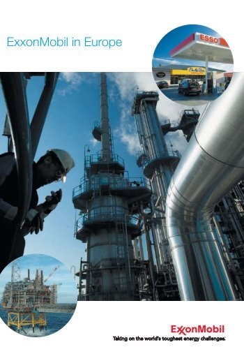 ExxonMobil in Europe - ExxonMobil in the UK