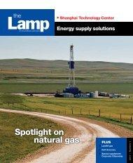 Spotlight on natural gas - ExxonMobil