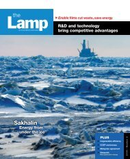 the Lamp: an ExxonMobil publication