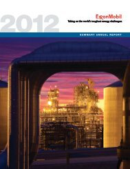 2012 SUMMARY ANNUAL REPORT - ExxonMobil