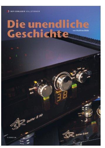 Die unendliche Geschichte - ASR Audio Systeme Friedrich Schäfer