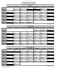 Faculty Call/Consults Schedule July 1, 2012 through June 30, 2013 ...