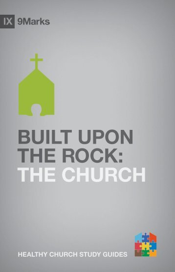 Built upon the Rock: The Church - Exodus Books