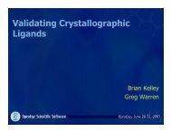 Validating Crystallographic Ligands